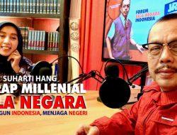 Suharti Hang Garab Bela Negara Kelompok Millenial