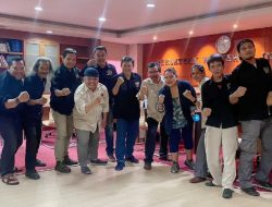 Jelajah Kebangsaan Wartawan, Tim JKW-PWI Bersama Krishnayanni Kibarkan Merah Putih