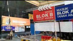 VIDEO: Kondisi Pasar Tanah Abang Saat PPKM Level 4