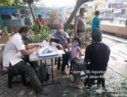 Sosialisasi Vaksin dan Prokes 3 M di Kecamatan Tambora, Jakarta Barat