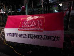 Ada Spanduk Aliansi Ormas Keagamaan di Bandung Dukung Taliban