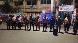 Antisipasi Penyebaran Covid-19, Babinsa Koramil 02/TB Bersama Tiga Pilar Gelar Patroli Wilayah